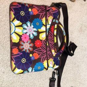Laptop carrying bag.